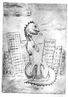 Dinosaur Print part 2 by bluecatqueen