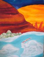 Cloudscape by bluecatqueen