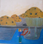 Gluten Dreams-Muffin by bluecatqueen