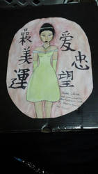 Chinese Beauty Queen by lionkinglover33