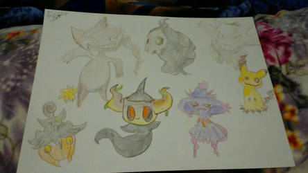 Pokemon doodles by lionkinglover33