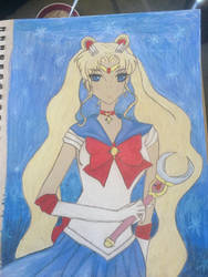 Sailor Moon by lionkinglover33