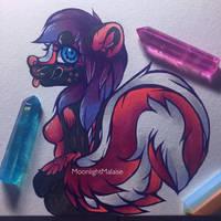 Fluffy tail (gift art)  by MoonlightMalaise