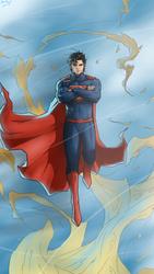 Superman by axone213