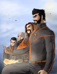 Hero Corp Vigilantes by axone213