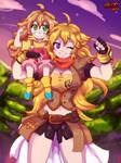 Me and Mini Me by SpideyHog