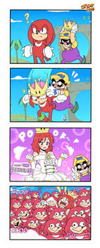 4Koma | Queen Knuckles by SpideyHog