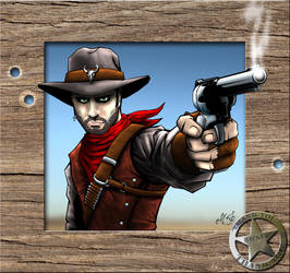 Posse, Wild West Justice Character by MalDuDepart