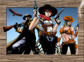 Posse, Wild West Justice Characters #2 by MalDuDepart