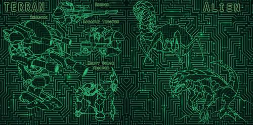 Battlezone Martia Terran War by MalDuDepart
