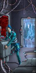 Nightlancers Cover Art #2 Manolis Frangidis by MalDuDepart