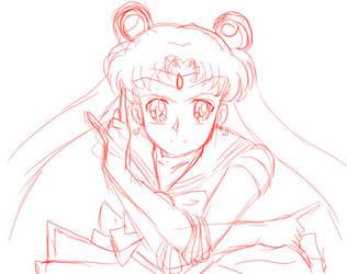 Sailor-moon-sketch by Enayru