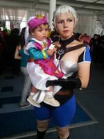 Nany Impa and baby Zelda (OoT) by Enayru