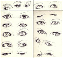 Some eyes by aureliebm