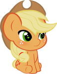 Chibi Applejack Vector by ParagonAJ