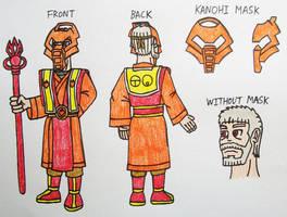 Turaga Vakama Human Design by StealthNinja5