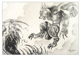 Rage against the Wyrm beast by TatyZ