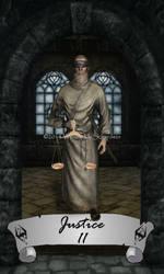 Skyrim Tarot 11 - Justice by Whisper292