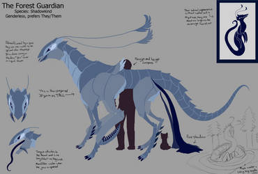Forest Guardian - Reference by Feather-Dancer