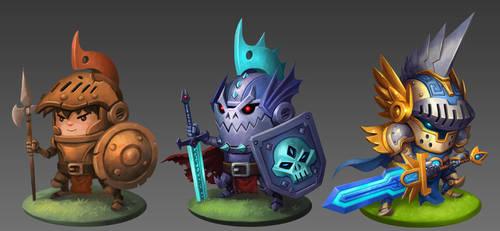 Knight Evolutions by animot