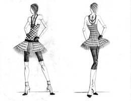 --tartan dresses-- by AannNdddDI