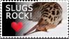 Slugs rock stamp by Crazdude
