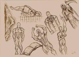 Body Studies 01 by RebirthArt
