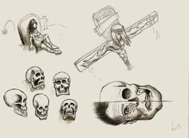 Body Studies 02 by RebirthArt