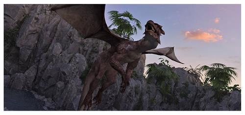 The Dragon's Paradox by Platycerium