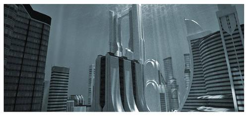 Wet City by Platycerium