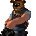 Freddy the Heavy Weapons Guy by Infernox-Ratchet