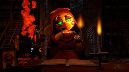 Pyromancer Troubles by Infernox-Ratchet