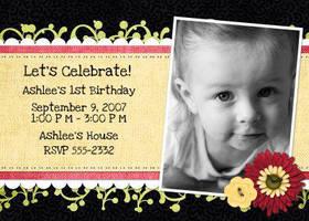 birthday invitation 2 by joecie