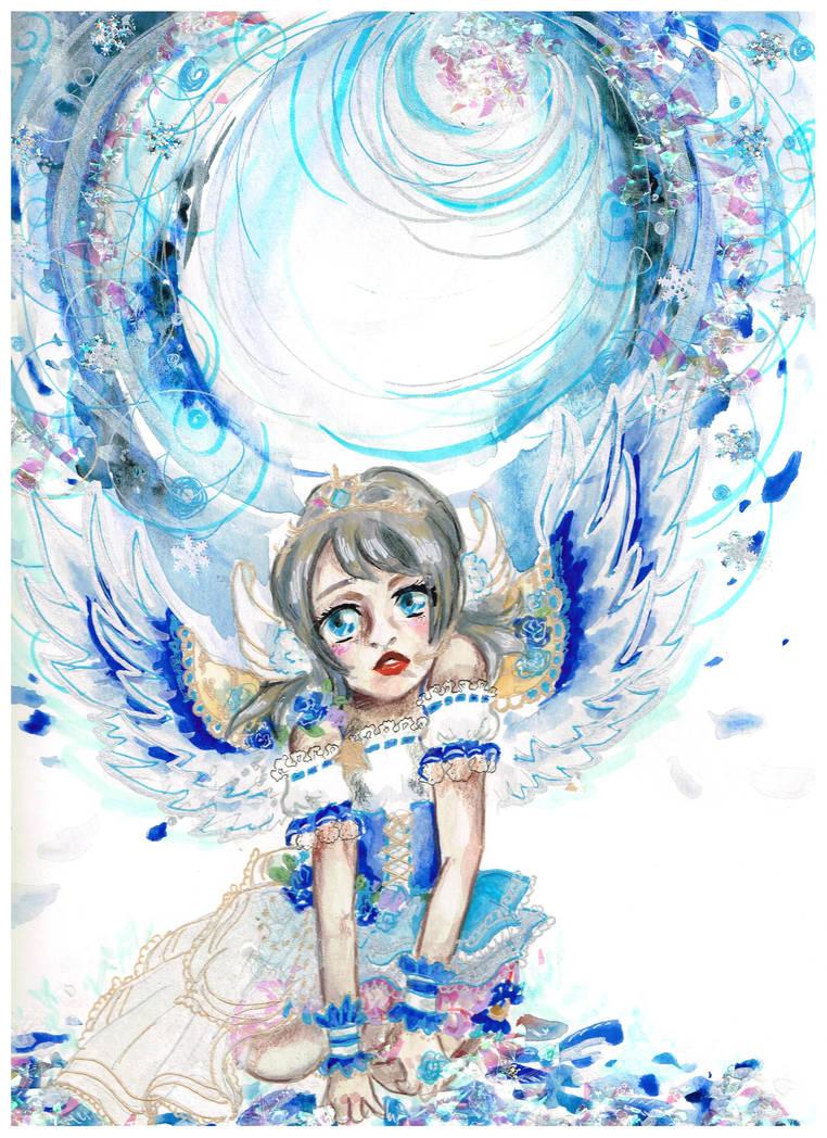 Love Live YOU Idolized Angel by XDElisabeth69