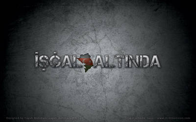 Ishgal Altinda - game logo (Under Occupation) by GrayWolf-aka-BozQurd