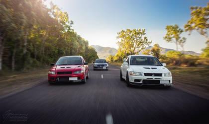 The Chase - Mitsubishi Evolution by InfuzedMedia