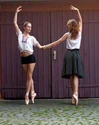 Ballet elegance by PanzerGoth