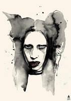 Marilyn Manson by ormehcym
