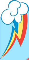 Rainbow Dash Bookmark by Nyenthgharanche