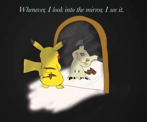 Pikachu and Mimikyu by WisdomClaw