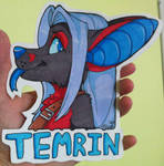 Temrin Badge by sbneko