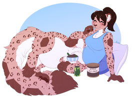 Pregnancy Cravings - Commission by sbneko