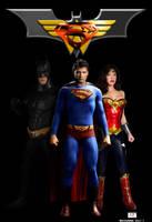 DC's Trinity by TheSnowman10