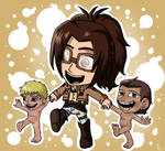 Hanji and her Babies by Maygirl96