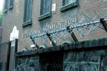Primary School in Belfast by Nullitey