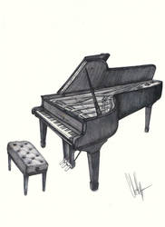 Steinway and Sons Piano by ChrisKogos