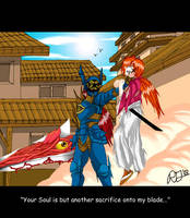 Kenshin Vs Nightmare by dash102030