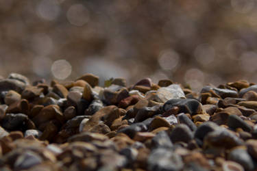 Pebble Blur by SeanLA