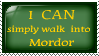 Mordor stamp by Daytha