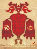 Red Hot Robot by SteamCrow
